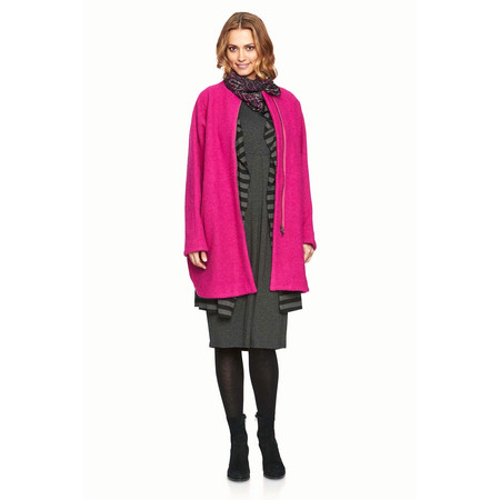 Masai Clothing Tonie Oversized Coat - Pink