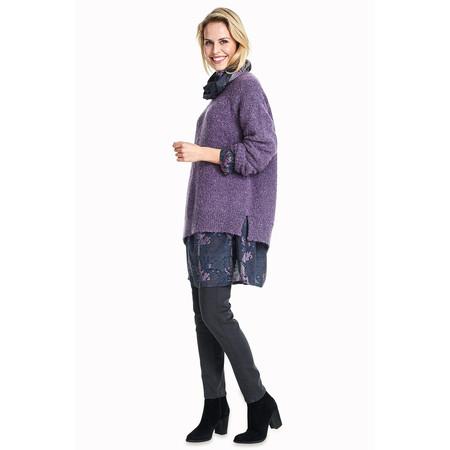 Masai Clothing Fidan Asymmetric Jumper  - Blue