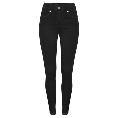 Robell Trousers Star Power Stretch Skinny Jean - Black