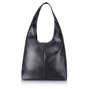 Gemini Label  Roana Slouchy Leather Hobo Bag