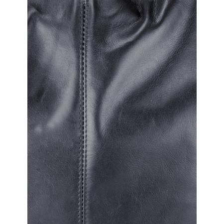 Pure White Roana Slouchy Leather Hobo Bag - Blue