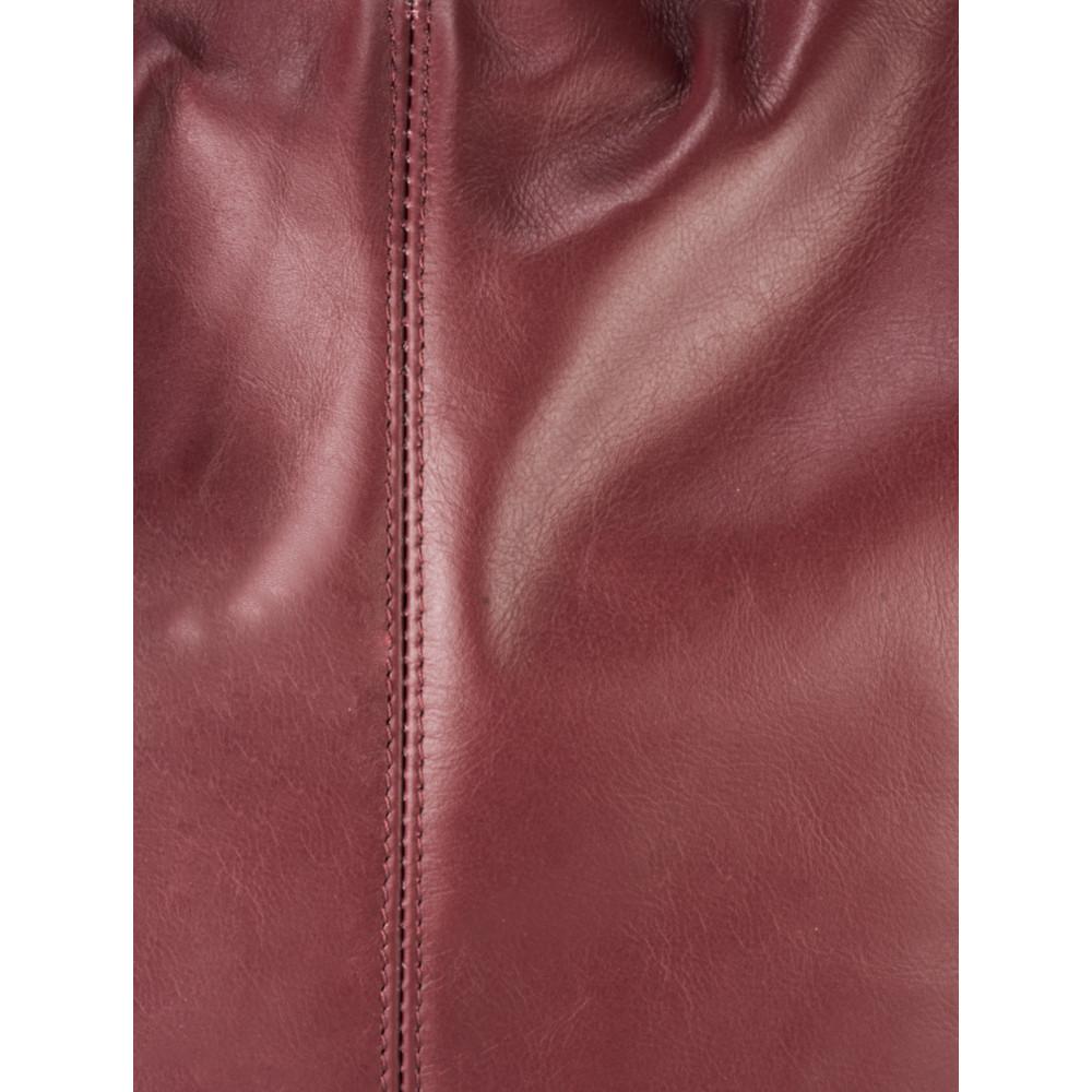 Gemini Label Bags Sophy Slouchy Leather Bag Bordeaux