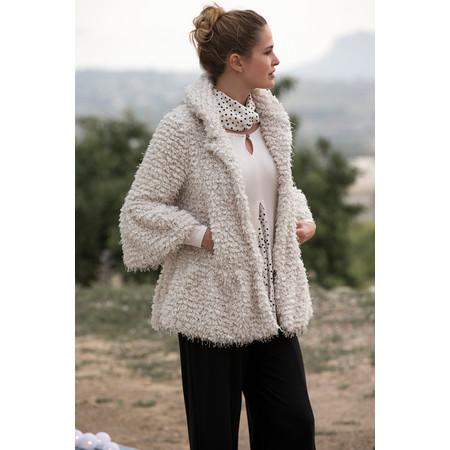 Myrine Moet Teddy Coat - White
