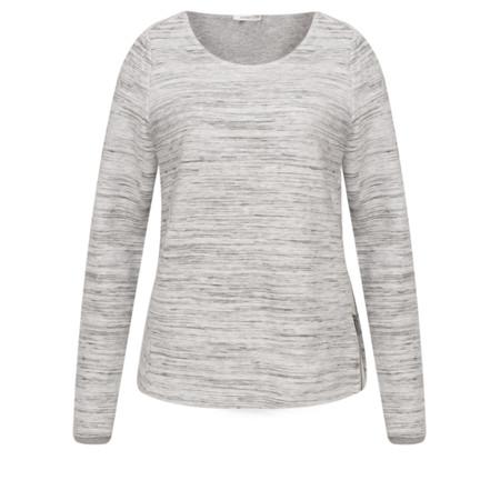 Sandwich Clothing Zip Detail Ottoman Sweatshirt - Grey