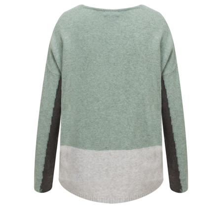 Sandwich Clothing V-neck Lambswool Jumper - Green