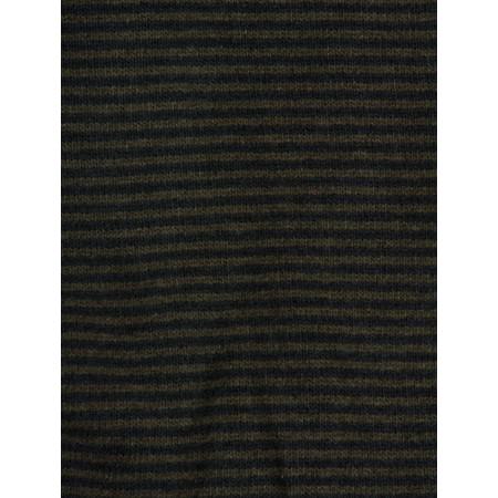 Mama B Sushi Knit Striped Scarf - Blue