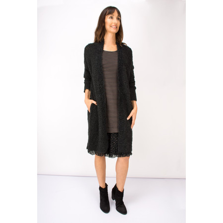 Myrine Inanna Alpaca Blend Knit Cardigan  - Black