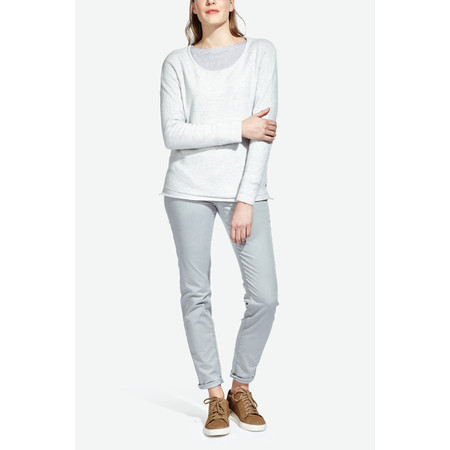 Sandwich Clothing Soft Wool Blend Pullover - White