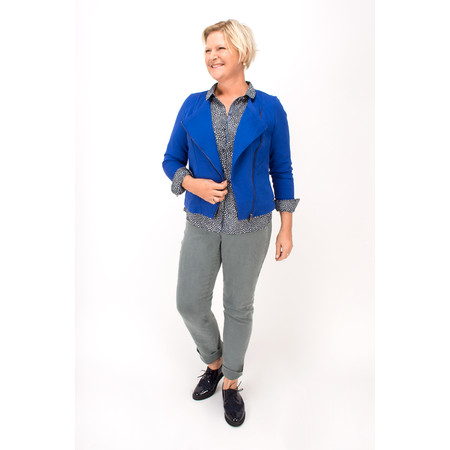 Sandwich Clothing French Terry Jacket  - Blue