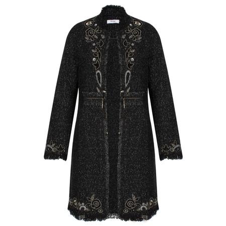 Myrine Min Magic Coat - Black