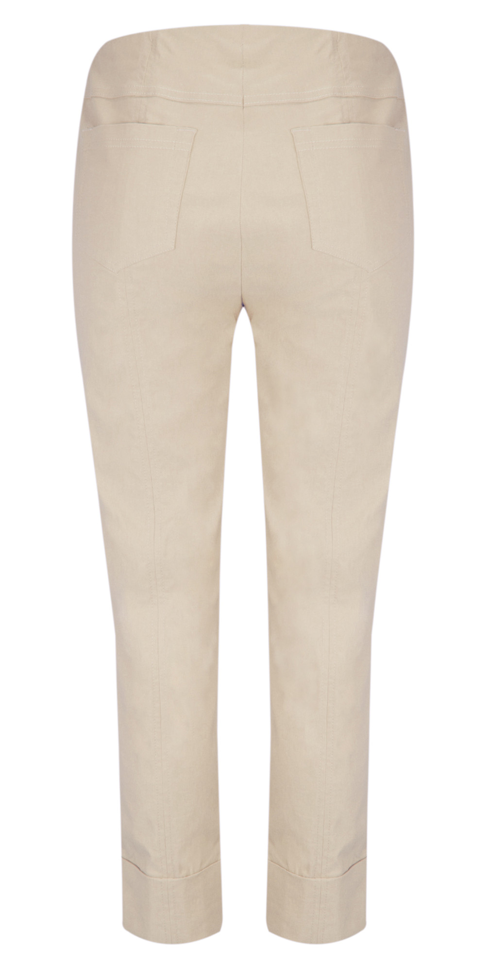 b8133d6c981 Robell Trousers Bella 7 8 Ankle Length Trouser in Beige