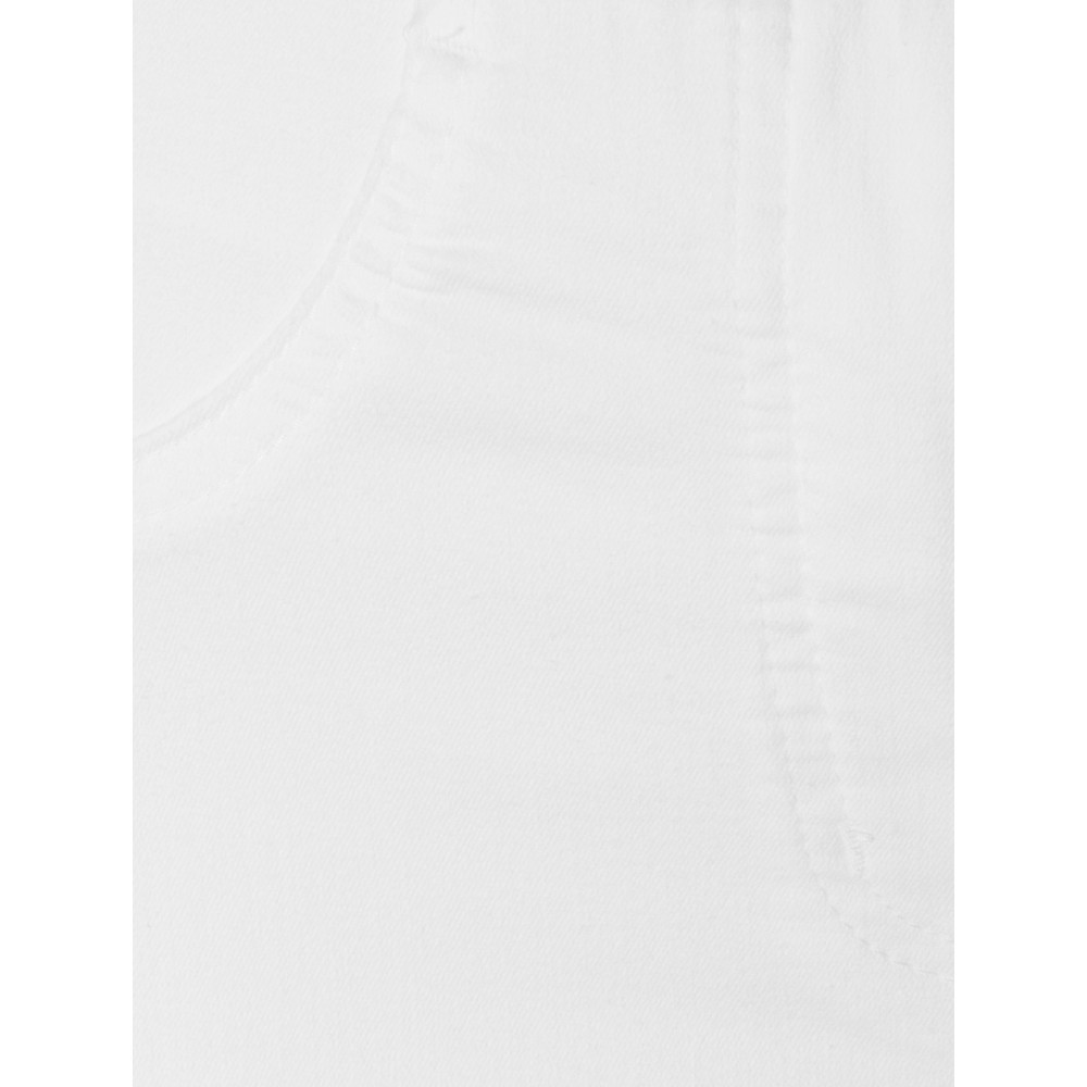 Robell Bella 09 White Ankle Length Jean with Cuff White
