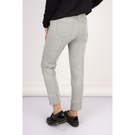 Robell Trousers Bella 09 Jean 7/8 Length with Cuff - Grey