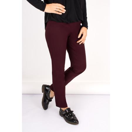 Robell Trousers Bella 78cm Slim Fit Trouser - Purple