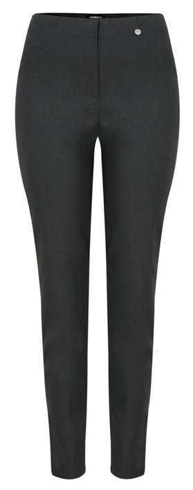 Robell Trousers Bella 78cm Slim Full Length Trouser Anthracite