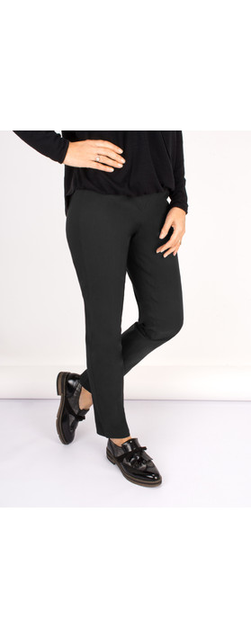 Robell Trousers Bella 78cm Slim Fit Trouser Anthracite