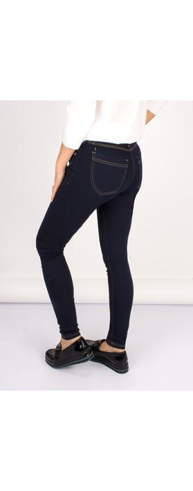 Robell Trousers Star Power Stretch Skinny Jean Dark Denim