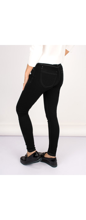 Robell Trousers Star Power Stretch Skinny Jean Black