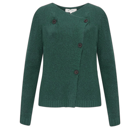 Sandwich Clothing Button Detail Wool Cardigan - Green