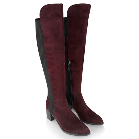 Kennel Und Schmenger Tyra Stretch Long Boot - Purple