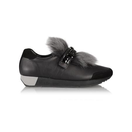 Kennel Und Schmenger Racer Luxe Trainer Shoe - Black