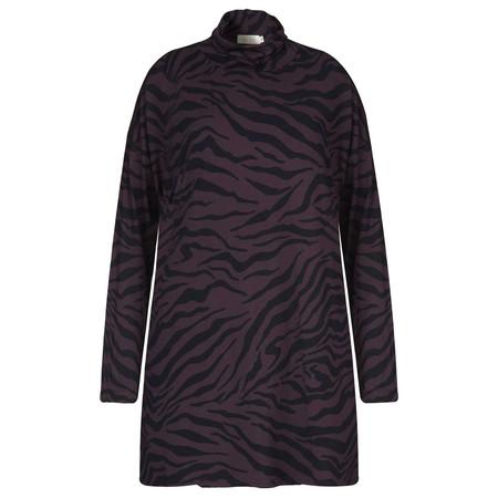 Masai Clothing Printed Gyrild Tunic - Purple