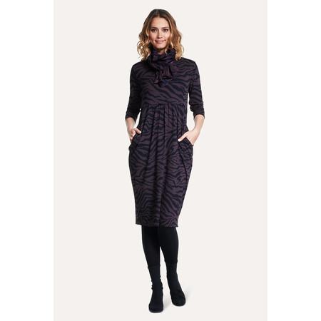 Masai Clothing Printed Nora Dress - Purple