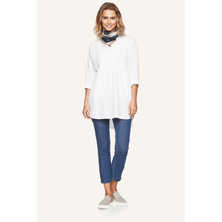 Masai Clothing Gubi Tunic Shirt  - White