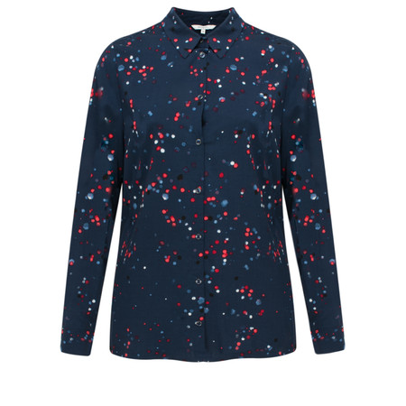 Sandwich Clothing Sparkle Print Shirt - Blue