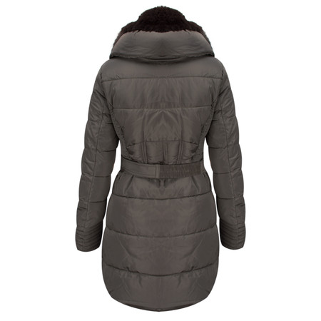 RINO AND PELLE Quilted Blush Coat - Rabbit