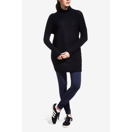 Sandwich Clothing High Neck Wool Jumper - Blue