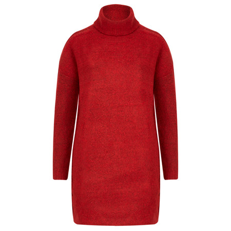 Sandwich Clothing High Neck Wool Jumper - Red