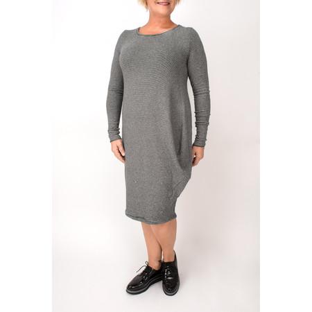 Mama B Sila Thin Stripped Knitted Dress - Black