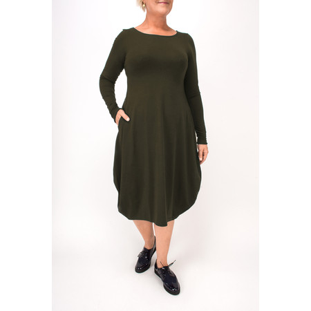Mama B Tuo Balloon Dress - Green