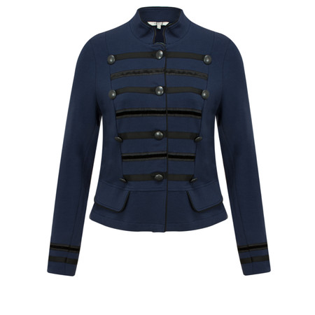 Sandwich Clothing French Terry Military Jacket - Blue