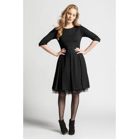 Myrine Filia Dotted Dress - Black
