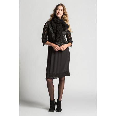 Myrine Krish Lace Dress - Black