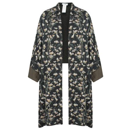 Myrine Bastet Floral Knit  - Black