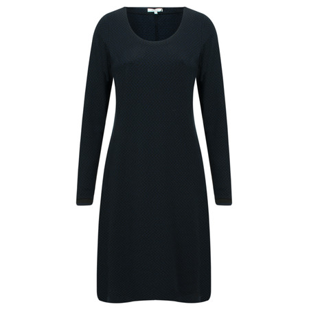 Sandwich Clothing Button Detail Jersey Dress - Blue