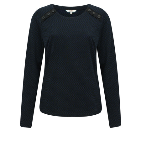 Sandwich Clothing Zigzag Jacquard Sweatshirt - Blue