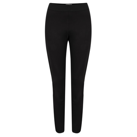 Sandwich Clothing Double Knitted Jersey Leggings - Black