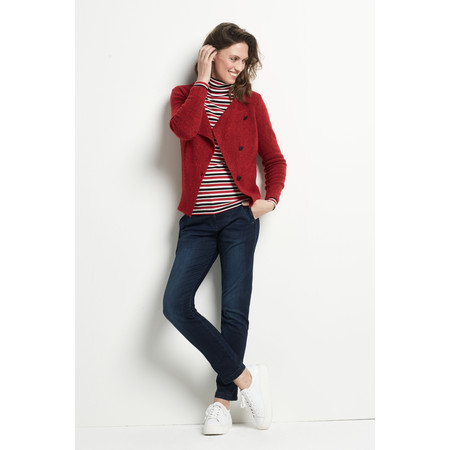 Sandwich Clothing Button Detail Wool Cardigan - Red
