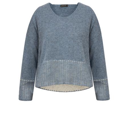 Grizas Short Knit Jumper - Blue