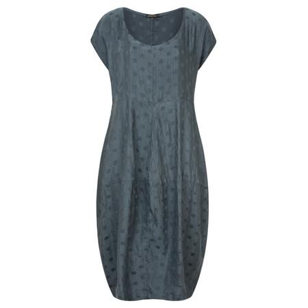 Grizas Balloon Spot Dress - Blue