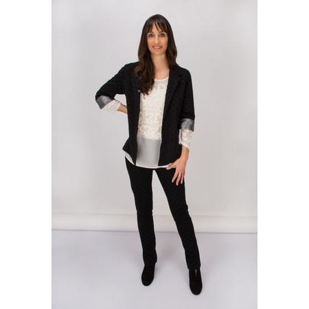Myrine Fraech Dotted Jacket - Black