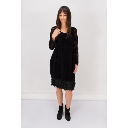 Myrine Juno Mesh Dot Skirt - Black