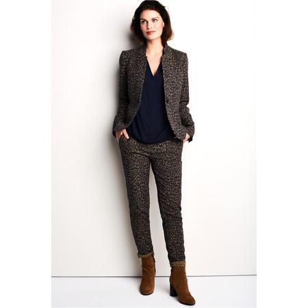 Sandwich Clothing Leopard Print Jacket - Beige