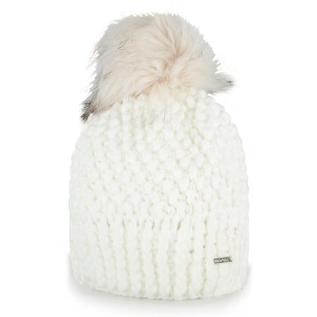 RINO AND PELLE Kevina Bobble Hat - White