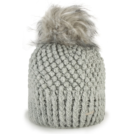 RINO AND PELLE Kevina Bobble Hat - Grey