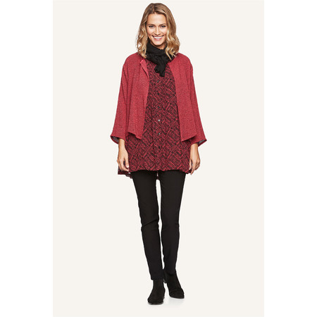 Masai Clothing Julian Woven Jacket - Red
